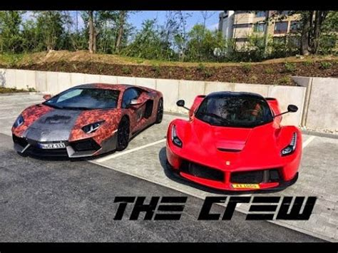 Pagani Vs Lamborghini by The Crew Laferrari Vs Lamborghini Aventador Vs Pagani