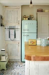 Küche Amerikanischer Stil : retro k hlschr nke im amerikanischen stil ~ Orissabook.com Haus und Dekorationen
