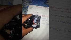 Bajaj Pulsar 150  U5  Handle Bar Switch  Rh  Wiring
