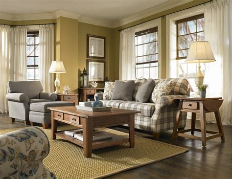 Modern French Country Living Room