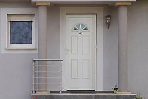 prix dune porte dentree en pvc budget maisoncom With combien coute une porte d entrée