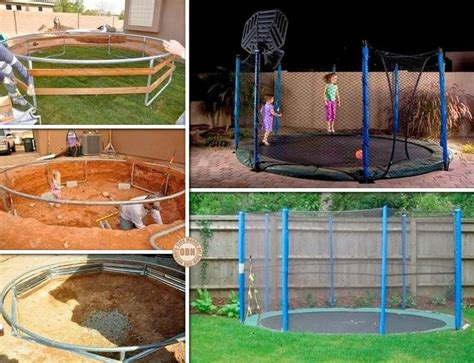 12 Best In Ground Trampolines Images On Pinterest