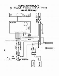 Wiring Diagram Diagram  U0026 Parts List For Model Hsw Thermador