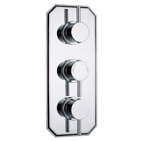 3 Outlet Shower Valve - quest concealed 3 outlet with diverter thermostatic