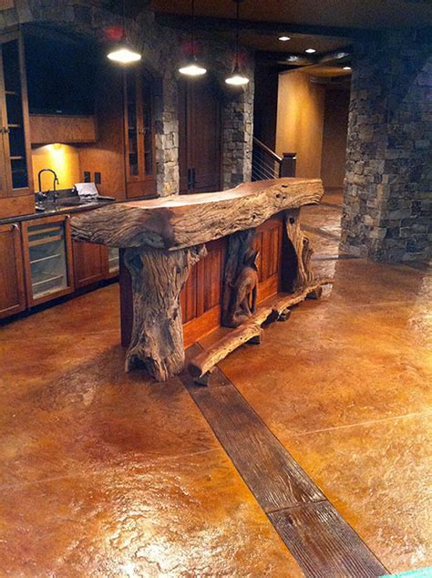 Recipe: Rustic Chic Stamped Concrete   Concrete Decor