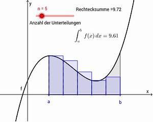 Funktionswert Berechnen : riemannsumme linksseitig neu geogebra ~ Themetempest.com Abrechnung