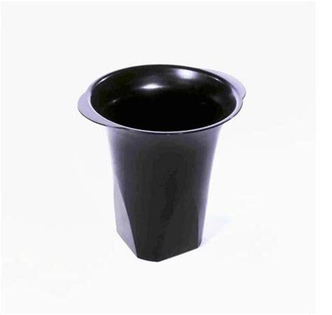 Black Plastic Vases  6ct Floral Vases  Flower Display