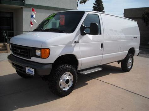 sell   ford    quigley cargo van  ventura