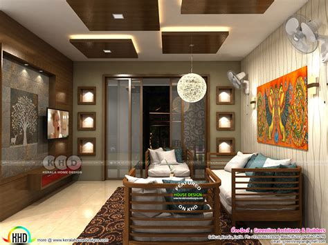 Home Interior Kerala Style : Modern Interior Designs Of 2018