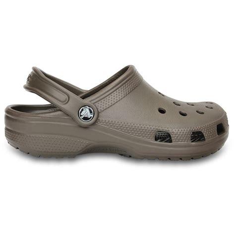 crocs classic shoe pewter original crocs slip  shoe