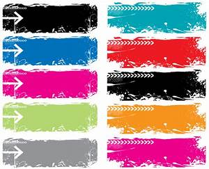 Colorful Grunge Vector Banners | Download Free Vector Art ...