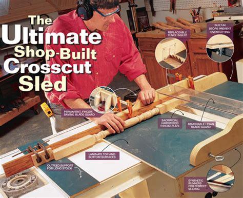 ultimate shop built crosscut sled popular