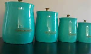teal kitchen canisters etsy your place to buy and sell all things handmade vintage and supplies