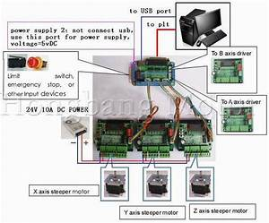 Cnc 3 Axis Tb6560 Stepper Motor Driver Controller Board