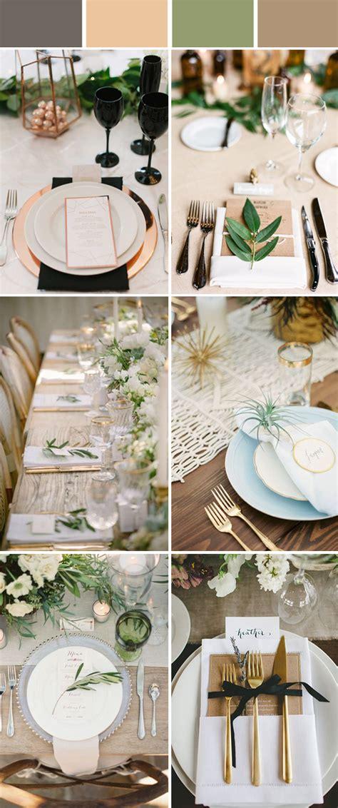 wedding table setting decoration ideas  reception