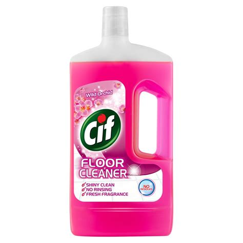 floor cleaning liquid cif floor cleaner wild orchid 1l household products cleaning products household iceland