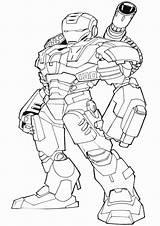 Coloring Avengers War Machine Iron Kolorowanka Kolorowanki Printable Dla Hulkbuster Ironman Justice League Marvel Drawing Malowanka Nr Superhero Cs Chłopcow sketch template