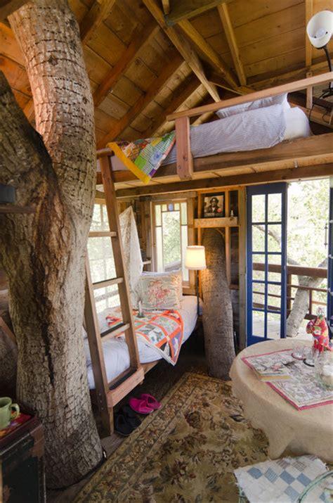 treehouse rustic bedroom san francisco  alex amend photography