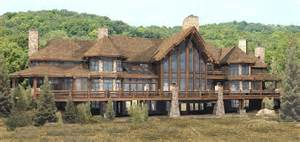 Luxury Log Home Designs by Gallery For Luxury Stone House Plans