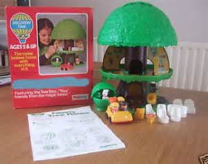 Tree House Toy From 80s