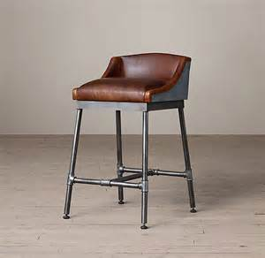 Silver Bar Stools With Back by 11 Leather Counter Stools Designs Ideas And Cool Photos
