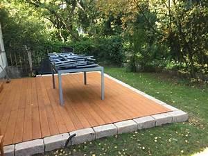 Boden Für Terrasse : unter freiem himmel pling garten umbau douglasie ~ Michelbontemps.com Haus und Dekorationen