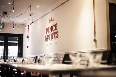 pince cuisine pince pints restaurant branding by bravo singapore