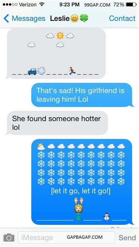 hilarious emoji text message gapcom