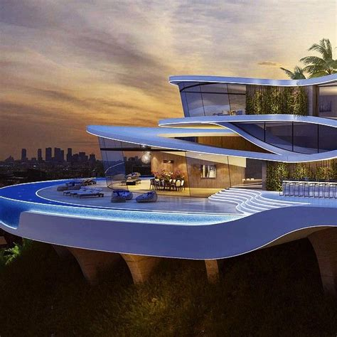 design a mansion jaw dropping modern mansion overlooking los angeles