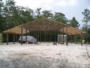 finally started pole barn 40x50 page 4 With 40x50 pole barn