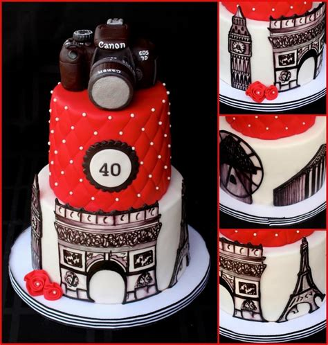 world traveler cake hand painted monuments cakecentralcom