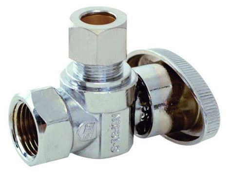 Straight Stop And Angle Stop Water Supply Valves