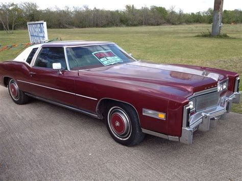 Sell Used 1977 Cadillac Eldorado Base Coupe 2-door 7.0l In
