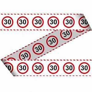 Pappteller 30 Geburtstag : party absperrband verkehrsschild 30 geburtstag 15 m g nstig kaufen bei ~ Markanthonyermac.com Haus und Dekorationen