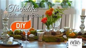 Tischdeko Selber Machen Herbst : diy festliche tischdeko f r den herbst deko kitchen youtube ~ Orissabook.com Haus und Dekorationen