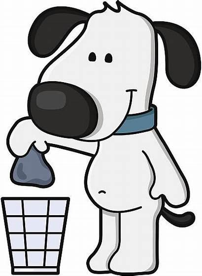 Poop Dog Clipart Pick Cartoon Clean Waste