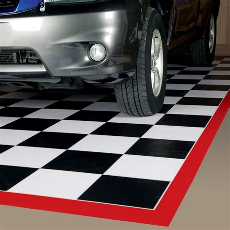 Diy Garage Floor Containment Mats by Tile Garage Floor Mats Checkerboard Tile Mats