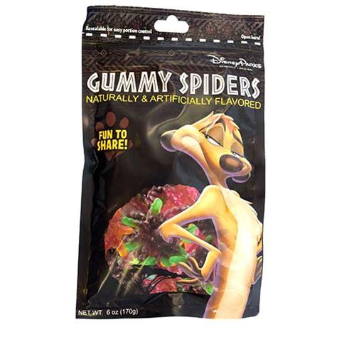 wdw store disney animal kingdom treats gummy spiders
