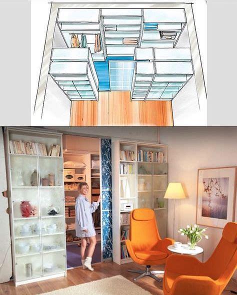 Regale Für Begehbaren Schrank by Kallax Regale Als Begehbarer Kleiderschrank Garderobe