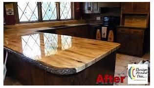 Diy Kitchen Countertop Ideas by Hometalk Kitchen Slab Wood Countertops Made From Granicrete