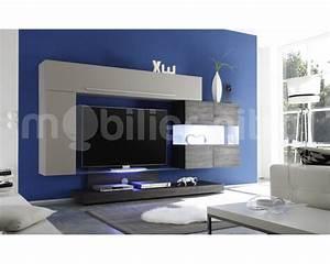 Meuble Design Tv Mural : meuble de tv design meuble tv banc maisonjoffrois ~ Teatrodelosmanantiales.com Idées de Décoration