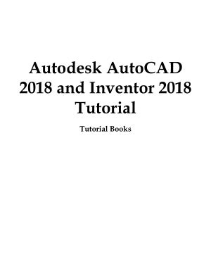 Autodesk AutoCAD 2018 and Inventor 2018 Tutorial By