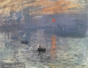 Impression Sunrise Painting by Claude Monet