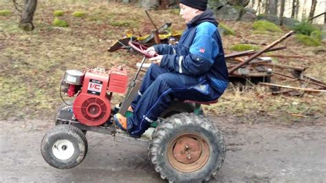 homemade tractor home made tractor youtube