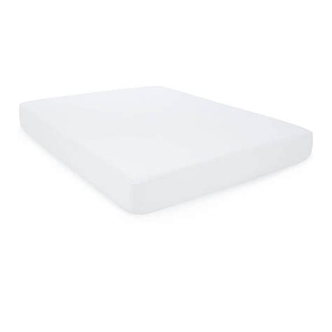 home depot mattress cover weekender fitted jersey mattress protector with noiseless
