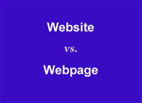 q a is a website and a web page the same thing