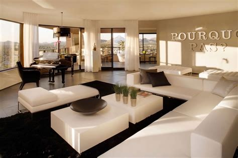 stunning penthouse living room designs   admire