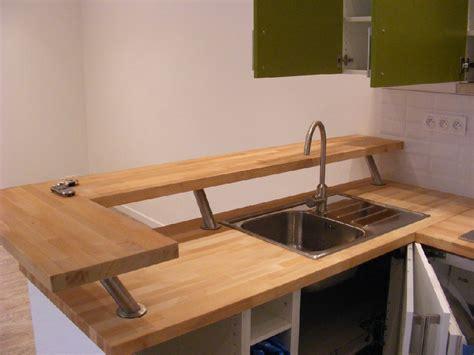 plan de travail pour bar de cuisine plan de travail bar cuisine cuisine ikea voxtorp de