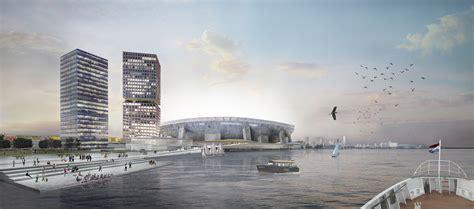 Feyenoord City Masterplan by OMA, approved by Rotterdam