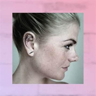 Tattoo Ear Inner Tattoos Tiny Glamour Piercing